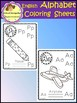 Alphabet Poster - Coloring Sheets - English (School Designhcf)