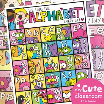 Alphabet Poster - Daily Alphabet Singing