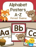 Alphabet Poster - Forest Theme
