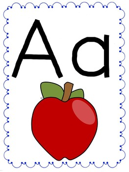 Alphabet Poster Free!!! Posters for every letter