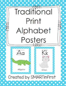 Alphabet Poster Freebie
