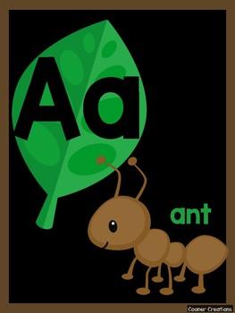 Alphabet Poster - Jungle Theme 2