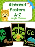 Alphabet Poster - Jungle Theme 2