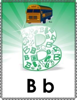 Alphabet Poster Set Classroom Decor