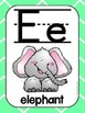 Alphabet Poster Set: A-Z (Full & Half Size Posters) {Brigh