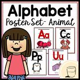 Alphabet Poster Set - Animal Edition