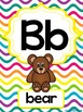Alphabet Poster multicolor