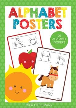 Alphabet Poster with Directional Alphabet
