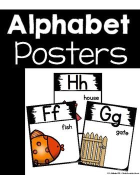 Alphabet Posters ~ Clean, simple design