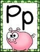 Alphabet Posters {Dots Classroom Set}