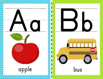 Alphabet Cards/ Posters