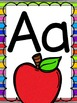 Bright, Rainbow Alphabet Posters