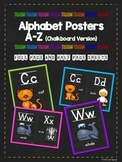 Alphabet Posters (chalkboard version)