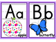 Alphabet Posters/Alphabet Cards (black & white versions in