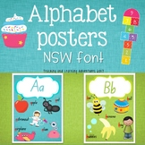 Alphabet Posters- NSW Foundation Font