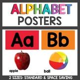 Rainbow Class Decor Alphabet Posters