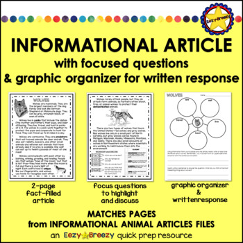NON-FICTION TEXT AND GRAPHIC ORGANIZER