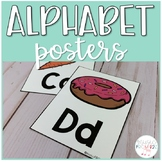 Alphabet Posters-Primary, Simple