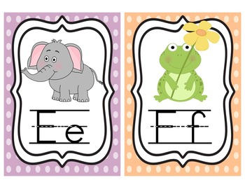 Alphabet Posters (5x7)