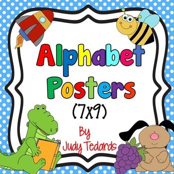 Alphabet Posters (7x9)