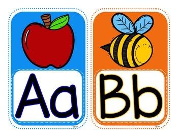 Alphabet Posters A-Z & 0-10