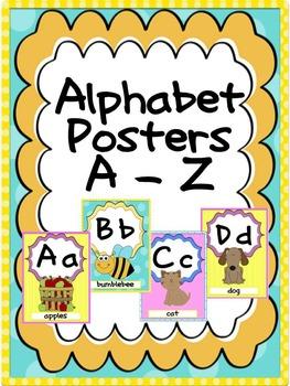 Alphabet Posters A - Z