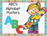 ABC's Alphabet Posters