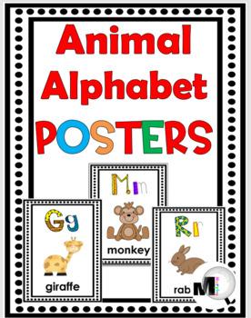 Alphabet Posters - Animal Theme