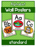 Alphabet Posters : A-Z Animals