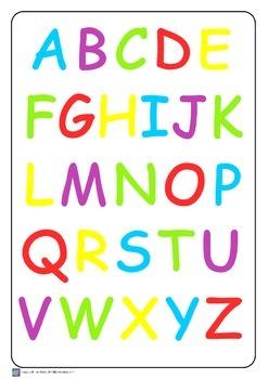Alphabet Posters A3 Size