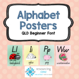 Alphabet Posters A4 (Qld Beginner)
