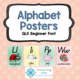 Alphabet Posters A4 (Qld Beginner)