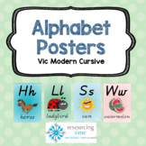 Alphabet Posters A4 (Vic Modern Cursive)