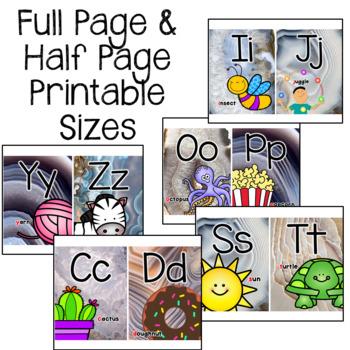 Alphabet Posters- Agate Classroom Decor