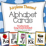 Alphabet Posters {Airplane Themed}
