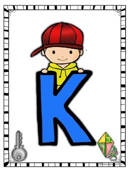 Alphabet Posters - Alpha Kids - Back to School