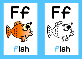 Alphabet Posters | Animal Clipart