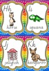 Alphabet Posters, Cards and Desk Strips - Animal Theme