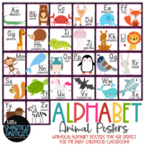 Alphabet Posters Animals