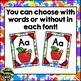 Alphabet Posters Art Theme