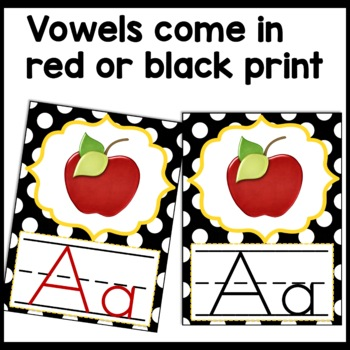 Alphabet Posters Bee Themed