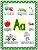 Alphabet Posters - LARGE - Polka Dot