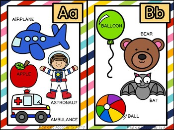 Alphabet Posters (Beginning Sounds objects)