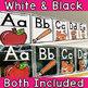 Alphabet Posters White