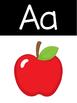 Alphabet Posters | Black Version
