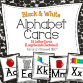 Alphabet Posters {Black and White Themed}