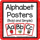 Alphabet Posters (Bold, Simple, + Clear Letters)