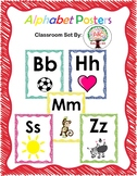 Alphabet Posters Bold n Bright Scribble UPDATED!
