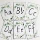 Alphabet Posters | Botanical Decor