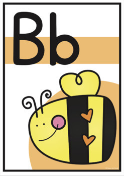 Alphabet Posters {Bright Alphabet Posters - Classroom Decor}